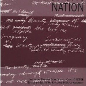 Writing self writing nation a collection of essays on dictee