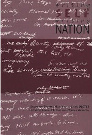 writing self writing nation a collection of essays on dictee As spiritual dictation: falling into the dictee as spiritual dictation: falling into the self, writing nation: a collection of essays on.